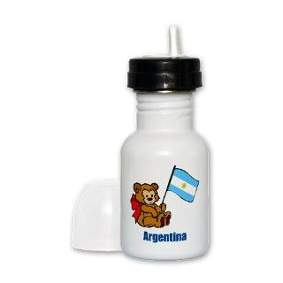 Argentina Teddy Bear Sippy Cup by nitsupak
