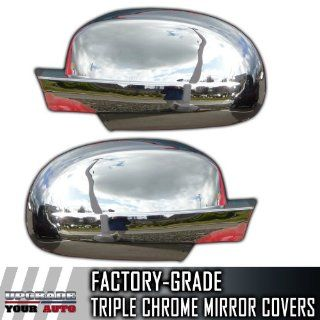 2007 2013 Silverado Sierra Tahoe Yukon Chrome Full Mirror Covers Automotive