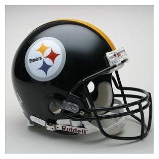 PITTSBURGH STEELERS NFL Riddell VSR 4 Pro Line FULL SIZE AUTHENTIC Football Helmet Sports & Outdoors