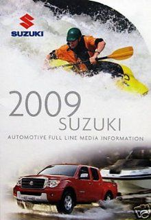 2009 Suzuki Full Line press kit