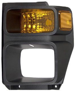 OE Replacement Ford Super Duty Driver Side Parklight Lens/Housing (Partslink Number FO2526106) Automotive