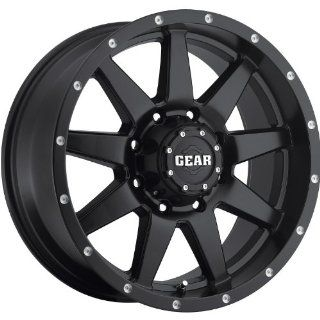 Gear Alloy Overdrive 17 Satin Black Wheel / Rim 5x4.5 with a 10mm Offset and a 83.82 Hub Bore. Partnumber 728B 7906510 Automotive