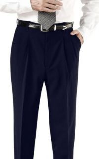 Ed Garments Men's Business Casual Pleated Pant Clothing