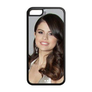 Creative Age Case, Selena Gomez Hard Plastic Back Cover Case for Iphone 5C Cell Phones & Accessories