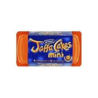 Mcvities Mini Jaffa Cakes Bar   Pack of 6  Cake Mixes  Grocery & Gourmet Food