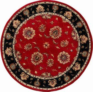 "Jewel Red/Black Rug Rug Size 9'6"" x 13'6""   Area Rugs"