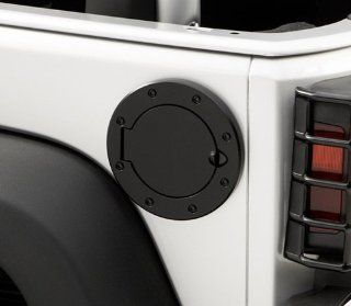 Rugged Ridge OMX11134.02 Jeep Wrangler Stainless Steel Fuel Door   TJ / LJ /JK   In Polished Stainl Automotive