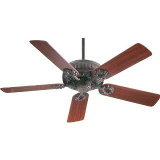 Quorum International 35525 44 Empress Energy Star Rated Renaissance Indoor Ceiling Fan In Toasted Sienna