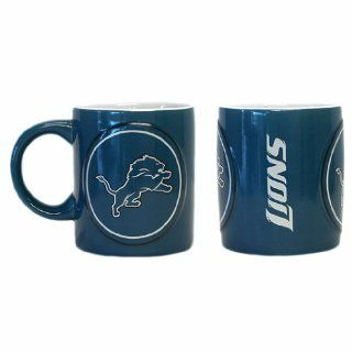 Detroit Lions NFL Coffee Mug   14oz Sculpted Warm Up Sports & Outdoors