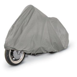 "SUPERIOR 4 LAYER MATERIAL WEATHERPROOF MOTORCYCLE BIKE COVER COVERS  FITS UP TO LENGTH 107""   ALL CRUISER BIKES, CUSTOM BIKES, METRIC AND LARGE TOURING BIKES   HARLEY DAVIDSON, YAMAHA, HONDA, SUZUKI, KAWASAKI, DUCATI, BMW, APRILIA, TRIUMPH, BUELL, MO"