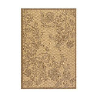 "Rose Lattice Indoor/Outdoor Rug 7'6""X10'9""   Cocoa/Natural   Improvements  Area Rugs  Patio, Lawn & Garden"