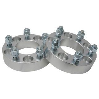 "(2) 25mm (1"") 5x114.3 (5x4.5) Wheel Spacers with 12x1.5 Studs for Acura Dodge Honda Hyundai Toyota Automotive"