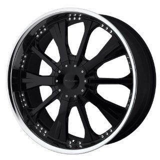 "KMC Wheels Strike KM658 Gloss Black Wheel with Machined Lip (20x8.5""/5x114.3mm) Automotive"