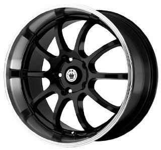 "Konig Lightning Gloss Black Wheel with Machined Lip (18x8""/5x114.3mm) Automotive"