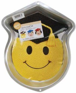 Wilton Smiley Grad/Graduate Cake Pan Kitchen & Dining
