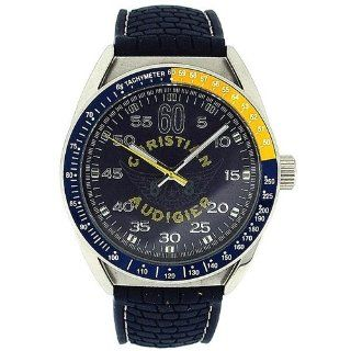 Christian Audigier Men's ETE 121 Garage Parts Aero Stainless Steel Watch Christian Audigier Watches