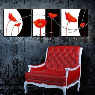 3pc modern abstract art painting wall deco painting on canvas (No Frame) YIWU  k ART 119