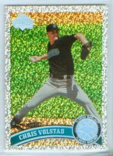 Chris Volstad 2011 Topps Baseball Platinum Parallel Diamond Anniversary Insert Card #127 / Florida Marlins