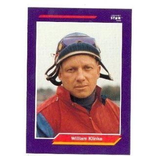 William Klinke trading card (Horse Racing) 1992 Jockey Star #128 Collectibles & Fine Art