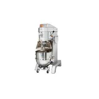 "Axis Equipment AX M60 Stainless Steel Commercial Planetary Mixer, 60 qt Capacity, 26 1/2"" Width x 55 115/128"" Height x 40 115/128"" Depth"