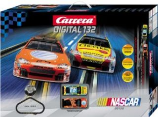 Carrera USA Digital 132, NASCAR Race Car Set Toys & Games