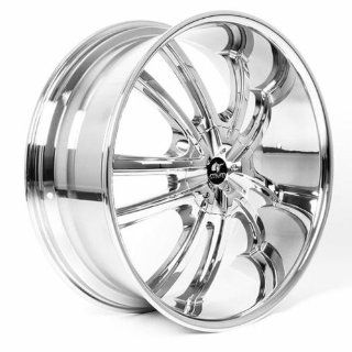 MUM Sports JS 55   24 inch Chrome Wheels Rims (24x10 6x135/139.7 ET+30)   SET OF 4   Automotive