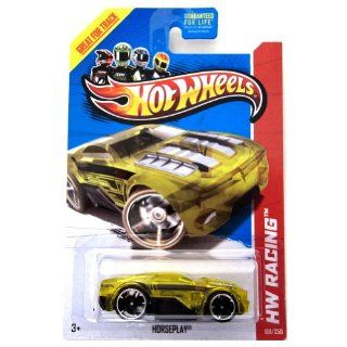 Horseplay '13 Hot Wheels 139/250 (Yellow) Vehicle Toys & Games