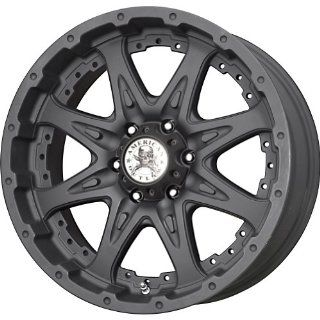 "American Outlaw Buckshot Matte Black Wheel with Painted Finish (17x9""/6x139.7mm) Automotive"