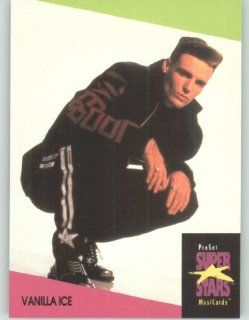1991 Pro Set Superstars MusicCards U.K. Edition # 146 Vanilla Ice (Collectible Pop Music / Rock Star Trading Card) Toys & Games