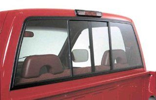Dark Tint 4 Panel Rear Sliding Window for 1981 1987 Chevy Luv / Isuzu Pickup Automotive