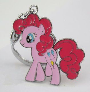 My Little Pony Friendship is Magic Metal Pinkie Pie Keychain Pendant Hot Toys & Games