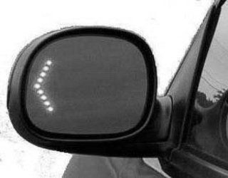 DRIVER SIDE DOOR MIRROR Ford F 150, Ford F 150 Heritage, Ford F 250, Ford F 350, Ford F 450 POWER WITHOUT HEATED GLASS; BLACK; WITH TURN SIGNAL IN GLASS; EXCLUDES CREW CAB; UNPAINTED Automotive