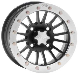 ITP SD Series Single Beadlock Wheel   12x7   4+3 offset   4/156   Matte Black , Bolt Pattern 4/156, Rim Offset 4+3, Wheel Rim Size 12x7, Color Black, Position Front/Rear 1228528536B Automotive