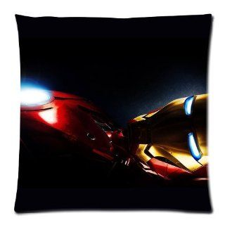 Iron Man Movie Pillow Covers DIY Cushion Cover Case 2 Sides 18x18 D173 02   Pillowcases