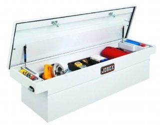 JOBOX JSC1394980 Steel Single Lid Deep Fullsize Crossover   White