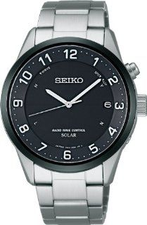 SEIKO Spirit Smart Men Solar Radio Wave Control Watch SBTM177 (Japan Import) Watches