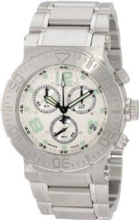 Invicta Men's 6146 Reserve Chronograph Silver Dial Stainless Steel Watch Invicta Watches