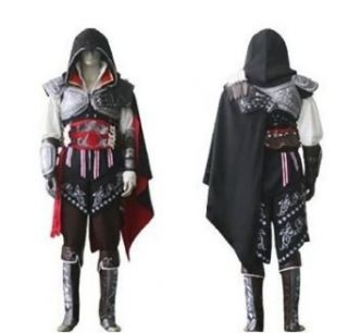 Assassin's Creed III Conner Kenway Casual Black&red Jacket Cosplay Costume Clothing