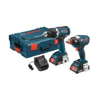 Bosch CLPK233 181L 18 volt Lithium Ion Brushless 2 Tool Kit with 1/2 Inch Drill/Driver, Socket Ready Impact Driver, 2 Batteries, Charger and L BOXX 2