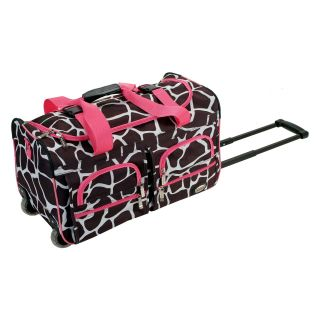 Rockland Luggage Giraffe 22 in. Rolling Duffel Bag   Luggage