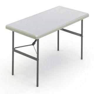 Iceberg 24 x 48 1200 Series Commercial Grade Table   White   Banquet Tables