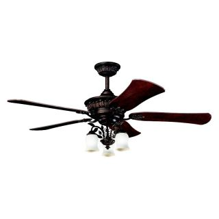 Kichler 300115MCO Heather 52 in. Indoor Ceiling Fan   Mission Copper   Ceiling Fans