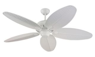 Monte Carlo 5CU52WH Cruise 52 in. Indoor / Outdoor Ceiling Fan   White   Outdoor Ceiling Fans