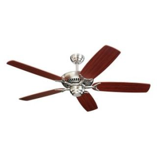 Monte Carlo 5CO52BS Colony 52 in. Indoor Ceiling Fan   Brushed Steel   Energy Star   Ceiling Fans