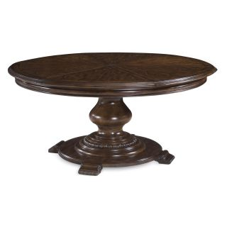 A.R.T. Furniture Coronado Round Pedestal Dining Table   Barcelona Walnut   Dining Tables