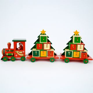 One Hundred 80 Degrees Train Advent Calendar   Decorative Accents