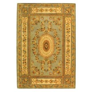 Safavieh Bergama BRG174A Area Rug   Light Blue/Ivory   Area Rugs