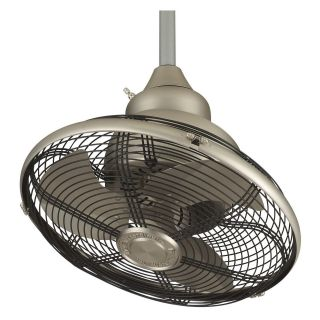 Fanimation OF110SN Extraordinaire 18 in. Indoor/Outdoor Ceiling Fan   Satin Nickel   DO NOT USE