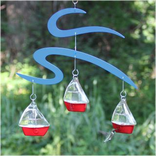 Avant Garden Yacht Race Hummingbird Feeder   Bird Feeders