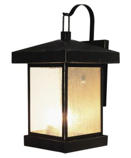 Trans Globe 45642 WB Coach Lantern   Weather Bronze   10W in.   Outdoor Wall Lights
